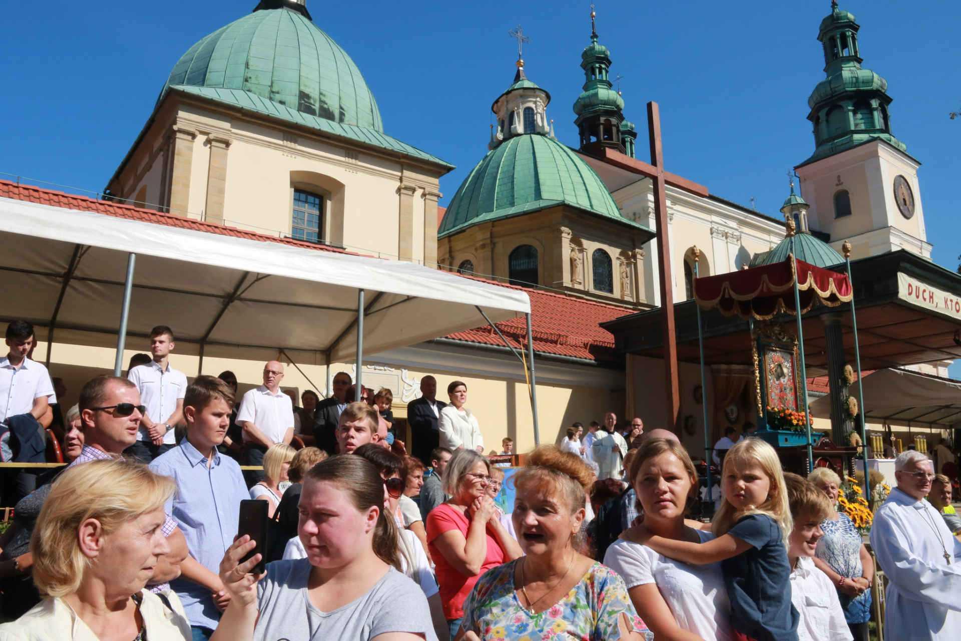 Pielgrzymka Rodzin Archidiecezji Krakowskiej