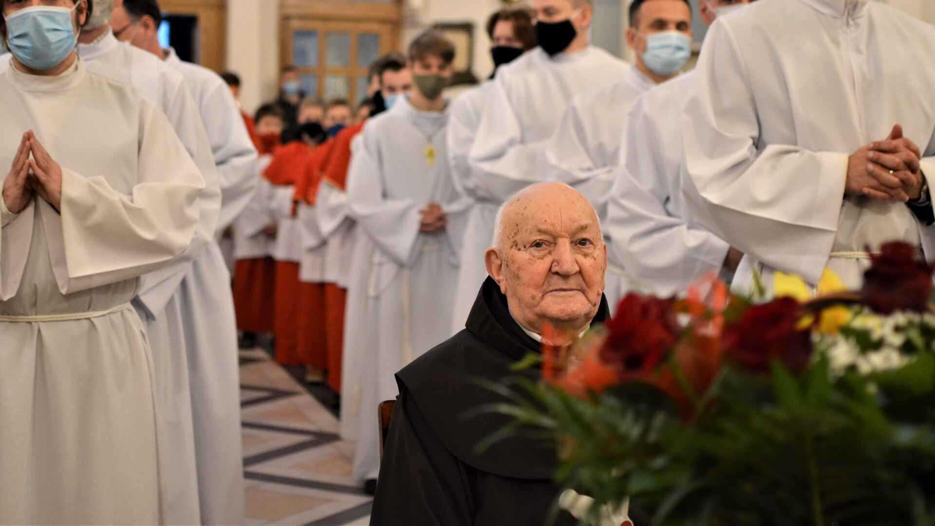 70-lecie życia zakonnego Br. Tadeusza Motyki