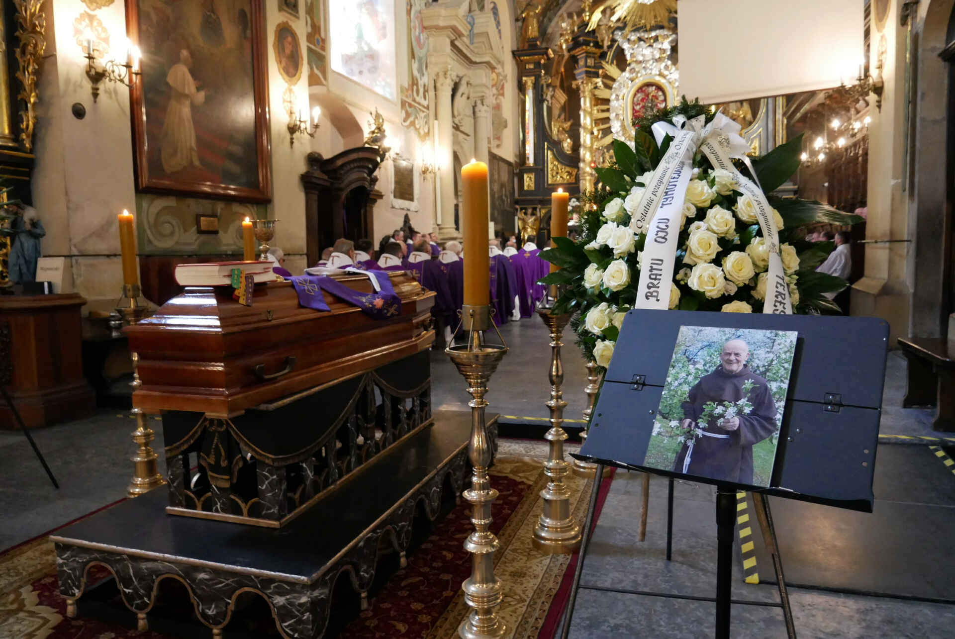 Pogrzeb o. Tymoteusza